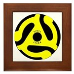 Vinyl Lives Framed Tile