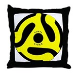 Vinyl Lives Throw Pillow