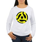 Vinyl Lives Women's Long Sleeve T-Shirt