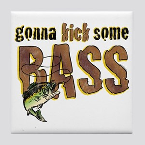 Kick Bass Tile Coaster