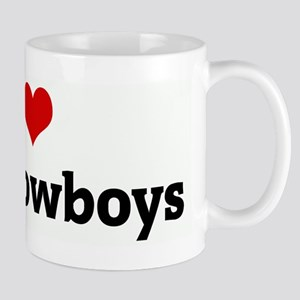 I Love Dirty Cowboys Mug