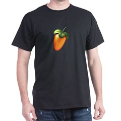 Black T-Shirt with 7