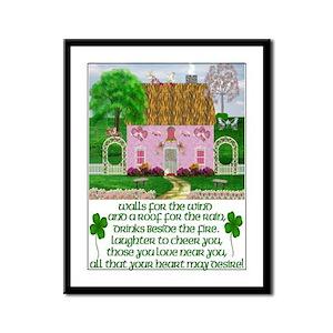 Irish Marriage Blessing Framed Print