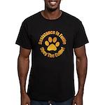 Collie Men's Fitted T-Shirt (dark)