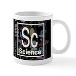 Science Retro Dark Mug