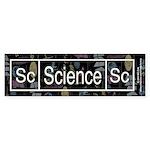Science Retro Bumper Sticker (50 pk)