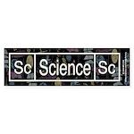 Science Retro Bumper Sticker