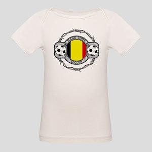 Belgium Soccer Organic Baby T-Shirt