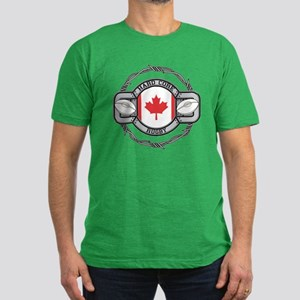 Canada Rugby Men's Fitted T-Shirt (dark)