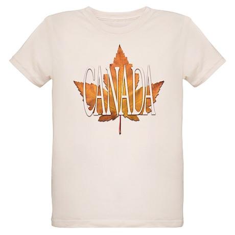 Canada Souvenir Organic Kids T-Shirt