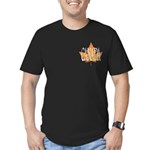 Canada Souvenir Men's Fitted T-Shirt (dark)