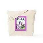BIRD BRAIN No. 2.. Large Shopping Tote or Book Bag