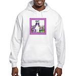 BIRD BRAIN No. 2.. Hooded Sweatshirt (Adult Sizes)