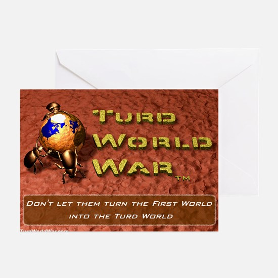 Turd World War Greeting Cards (Pk of 10)