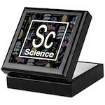 Science Retro Keepsake Box