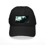 Beluga Whales Black Baseball Cap Wildlife Art