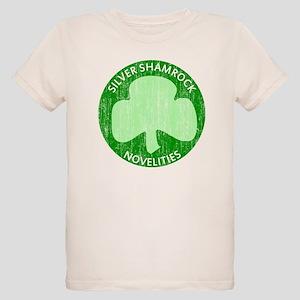 Silver Shamrock Organic Kids T-Shirt