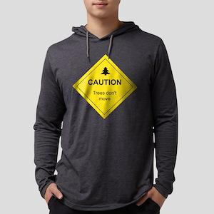 Caution Trees Long Sleeve T-Shirt