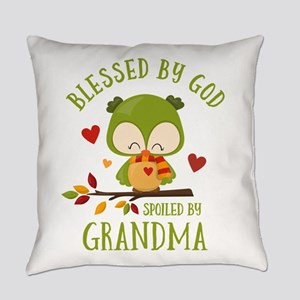 Spoiled By Grandma TG Owl Everyday Pillow