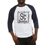 Science Retro Baseball Jersey
