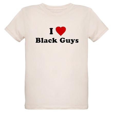 I Love [Heart] Black Guys T-Shirt
