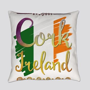 Cork Ireland Everyday Pillow