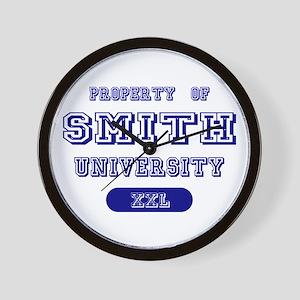 Property of Smith University Wall Clock