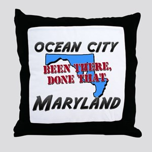 ocean city maryland - been there, done that Throw