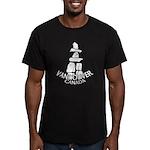 Vancouver Inukshuk Men's Fitted T-Shirt (dark)