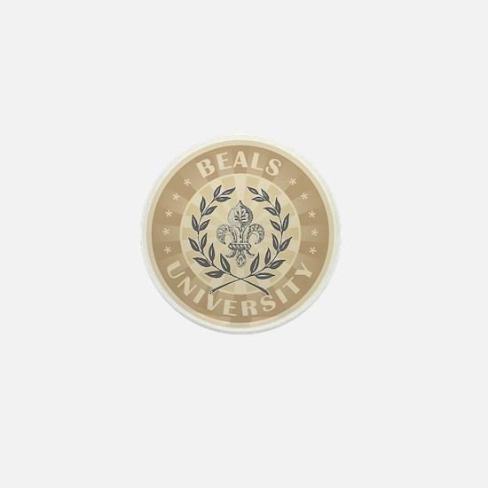 Beals Last Name University Mini Button