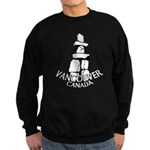 Vancouver Inukshuk Sweatshirt (dark)