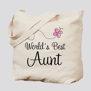 World's Best Aunt Tote Bag