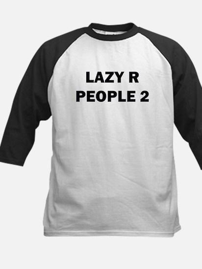 Lazy R People 2 Kids Baseball Jersey