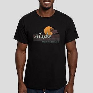 Alaska Men's Fitted T-Shirt (dark)