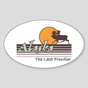 Alaska Oval Sticker