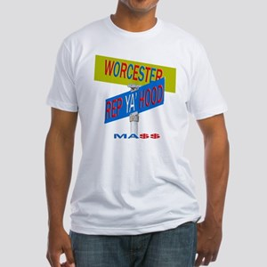 REP WORCESTER Fitted T-Shirt