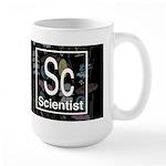 Scientist Retro Dark Large Mug