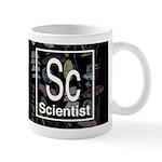Scientist Retro Dark Mug