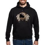 Metis Wildlife Art Hoodie (dark)