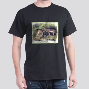 Audubon White-Tailed Deer (Front) Dark T-Shirt