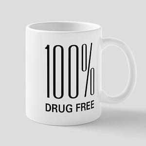 100 Percent Drug Free Mug