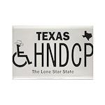 Texas Handicap Plate Magnets