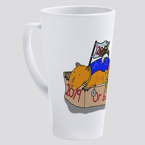 2019 or bust!! 17 oz Latte Mug