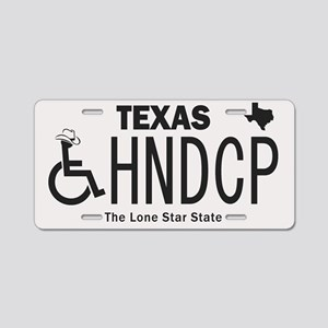 Texas Handicap Plate Aluminum License Plate