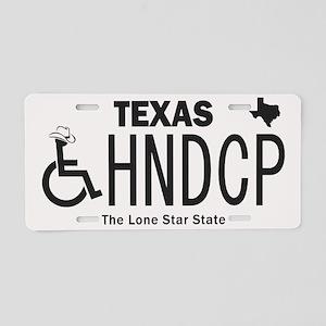 Texas Handicap Plate Aluminum License Plate