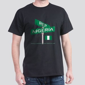 REP NIGERIA Dark T-Shirt