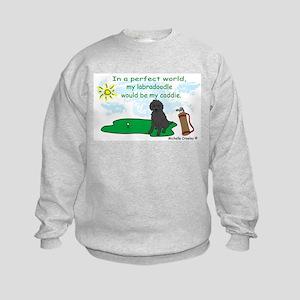 labradoodle Kids Sweatshirt
