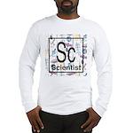 Scientist Retro Long Sleeve T-Shirt