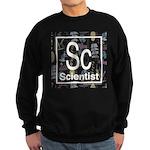 Scientist Retro Sweatshirt (dark)