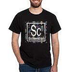 Scientist Retro Dark T-Shirt